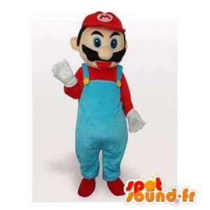 Mascot Mario, berømt videospilkarakter - Spotsound maskot