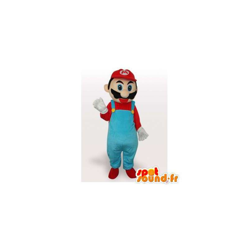 Mascot Mario, the famous video game character - MASFR006504 - Mascots Mario