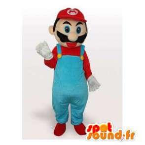 Mascotte de Mario, célèbre personnage de jeux vidéo - MASFR006504 - Mascottes Mario