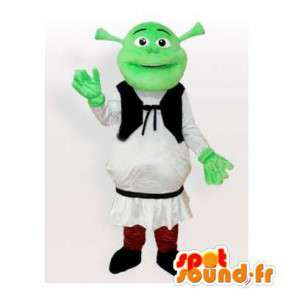 Mascotte de Shrek, personnage célèbre de dessin animé - MASFR006509 - Mascottes Shrek
