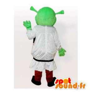 Shrek Maskottchen Charakter berühmten Cartoon - MASFR006509 - Maskottchen Shrek