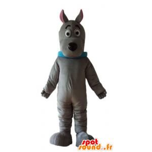 Mascot Scooby cão famoso desenho animado