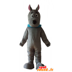 Scooby mascotte, cartone animato cane famoso - MASFR22832 - Mascotte Scooby Doo