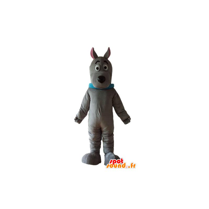 Mascotte de Scoubidou, célèbre chien de dessin animé - MASFR22832 - Mascottes Scooby Doo