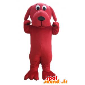 Mascot grote rode hond, reuze Clifford - MASFR22836 - Dog Mascottes