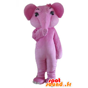 Mascot Pink Elephant, Giant and fully customizable