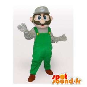 Luigi mascot, a friend of Mario, the famous video game character - MASFR006541 - Mascots Mario
