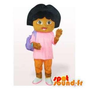 Dora the Explorer-Maskottchen.Kostüm Dora the Explorer - MASFR006542 - Maskottchen Dora und Diego