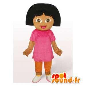 Mascotte de Dora l'exploratrice. Costume de Dora l'exploratrice - MASFR006546 - Mascottes Dora et Diego