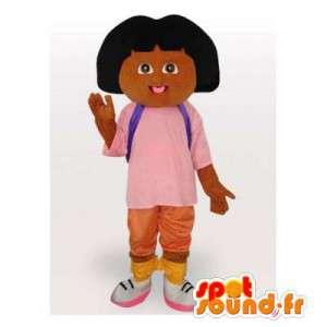 Mascotte de Dora l'exploratrice. Costume de Dora l'exploratrice - MASFR006551 - Mascottes Dora et Diego