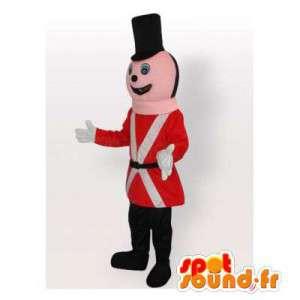 Tin Soldier Mascot. żołnierz Kostium - MASFR006552 - maskotki Soldiers