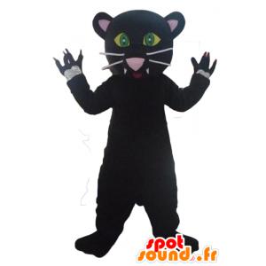 La mascota de la pantera negro, muy lindo y muy realista - MASFR23080 - Mascotas de tigre