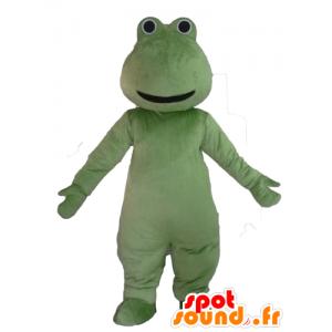 Sapo verde mascote, muito sorridente - MASFR23096 - Forest Animals