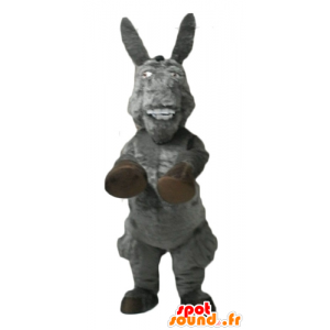 The donkey mascot, famous donkey cartoon Shrek