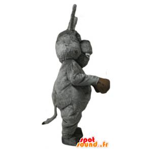 The donkey mascot, famous donkey cartoon Shrek - MASFR23130 - Mascots Shrek