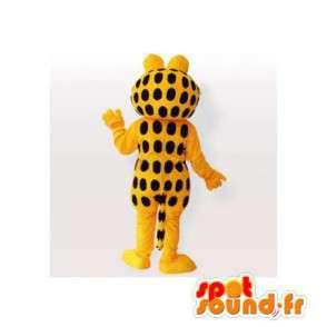 Garfield maskot, berømte oransje og svart katt - MASFR006562 - Garfield Maskoter