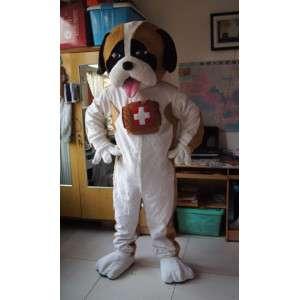 Saint Bernard mascot - Disguise Dog Mountain - MASFR002840 - Dog mascots