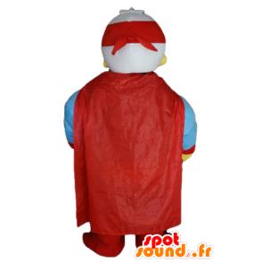 Mascotte de Donald Duck, célèbre canard, habillé en super-héros - MASFR23199 - Mascottes Donald Duck