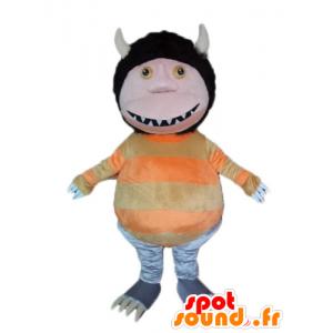 Mascot gnome, elf, seltsame Kreatur ave Ohren - MASFR23236 - Fehlende tierische Maskottchen