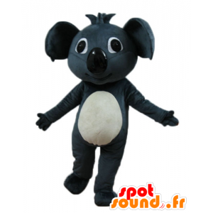 Mascot hermosa gris y koala blanco, gigante - MASFR23253 - Mascotas Koala