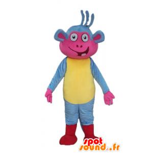 Μπότες μασκότ, η διάσημη μαϊμού Ντόρα η Εξερευνήτρια - MASFR23335 - Ντόρα και Ντιέγκο Μασκότ