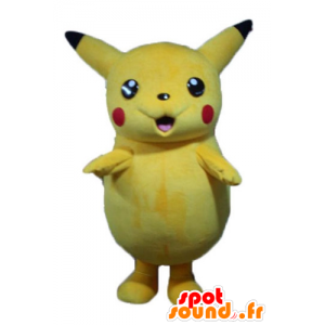 Mascot Pikachu gele Pokemeon beroemde cartoon - MASFR23342 - Pokémon mascottes