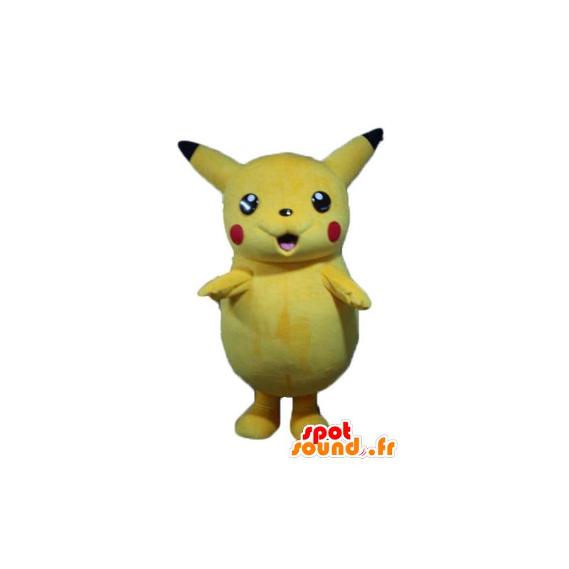 Acquista mascotte pikachu famoso giallo pokemeon cartone animato in