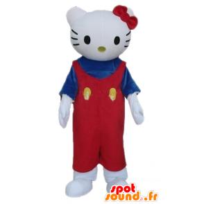 Mascotte d'Hello Kitty, célèbre chat de dessin animé - MASFR23354 - Mascottes Hello Kitty