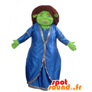 Fiona maskot, känd följeslagare till Shrek - Spotsound maskot