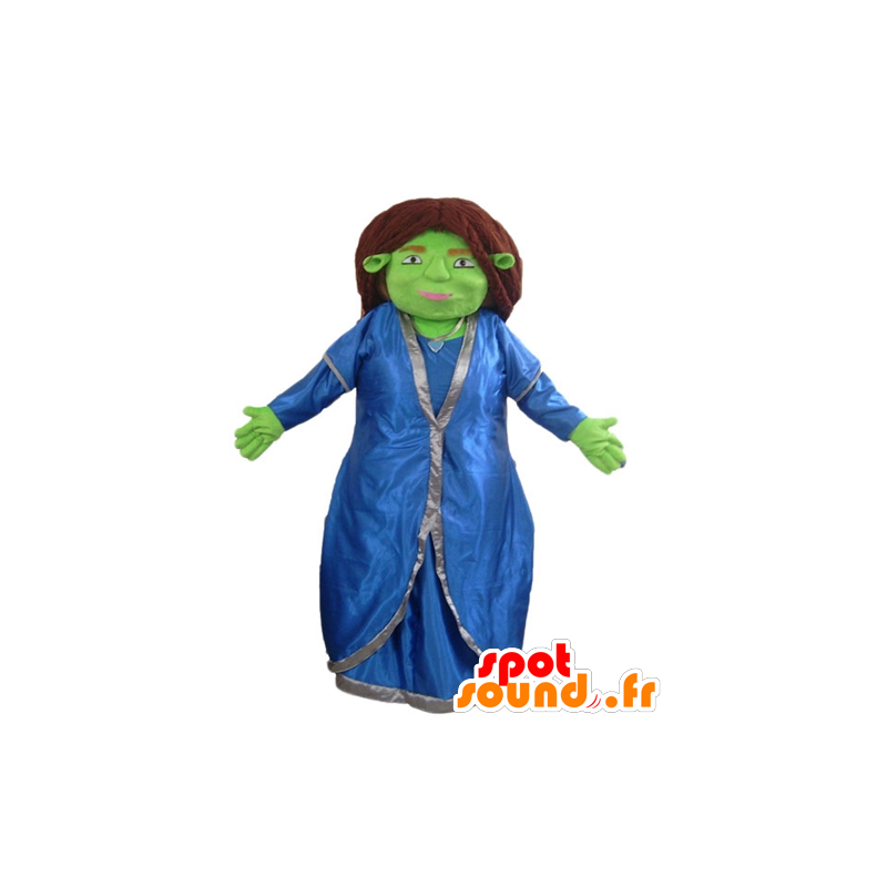 Fiona maskot, berømt ledsager af Shrek - Spotsound maskot