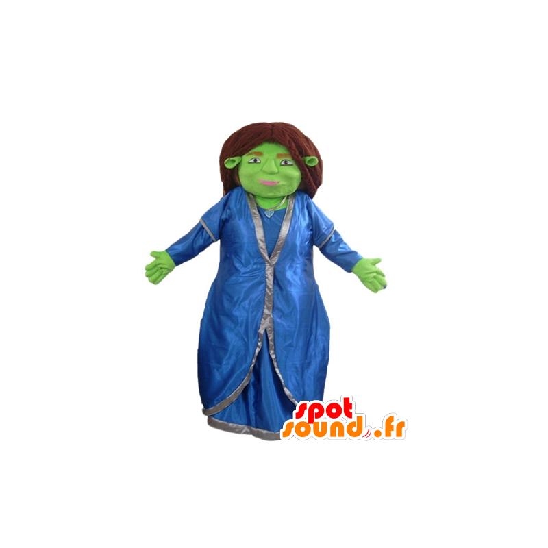 Mascotte de Fiona, célèbre compagne de Shrek - MASFR23362 - Mascottes Shrek