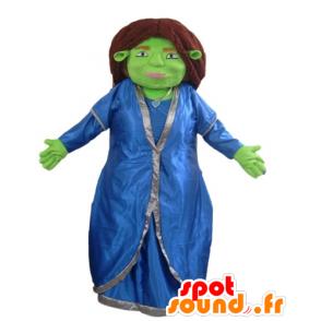 Fiona mascotte, de beroemde metgezel van Shrek - MASFR23362 - Shrek Mascottes