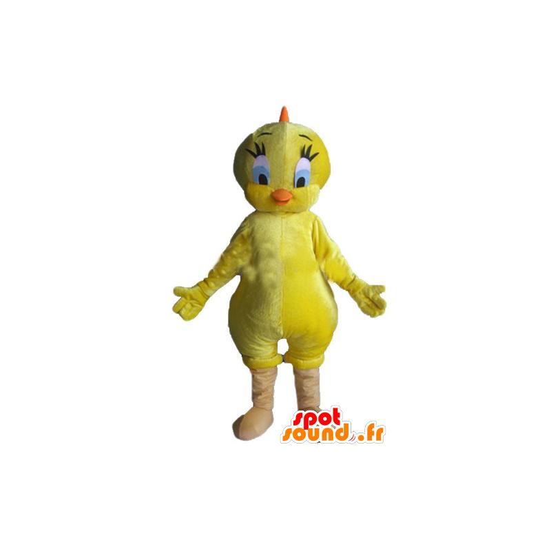 Mascotte de Titi, célèbre canari jaune des Looney Tunes - MASFR23367 - Mascottes TiTi et Grosminet