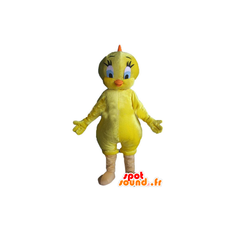 Titi mascot, famous canary yellow Looney Tunes - MASFR23367 - Mascots Tweety and Sylvester