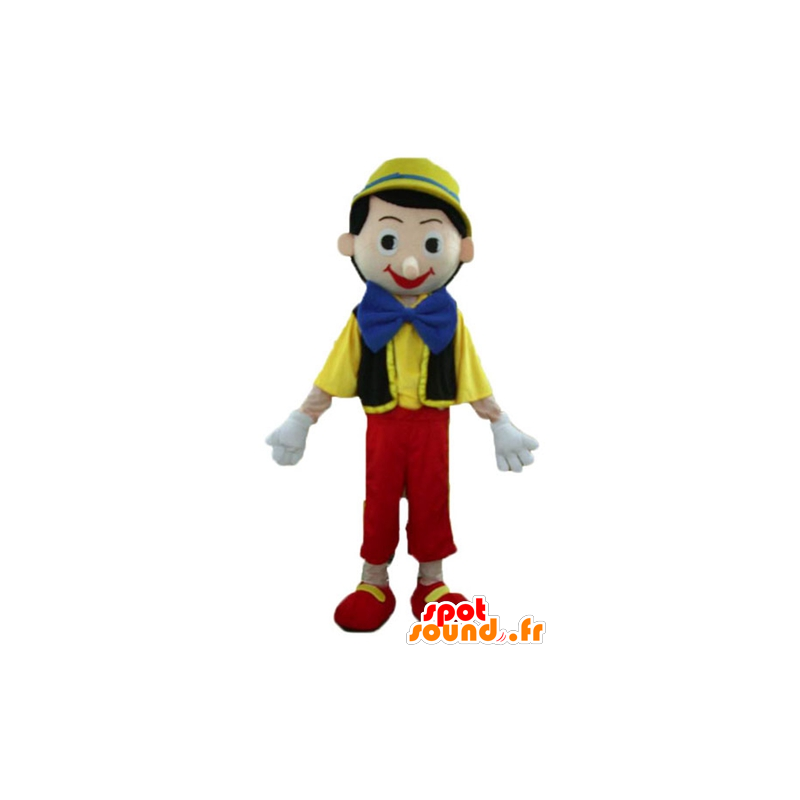 Pinocchio mascot, famous cartoon character - MASFR23372 - Mascots Pinocchio