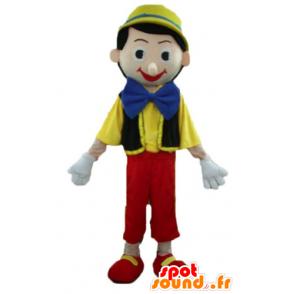 Mascotte de Pinocchio, célèbre personnage de dessin animé - MASFR23372 - Mascottes Pinocchio