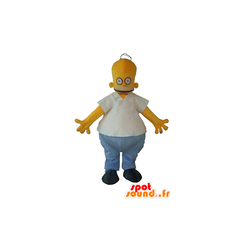 Mascot Homer Simpson, de bekende stripfiguur - MASFR23373 - Mascottes The Simpsons