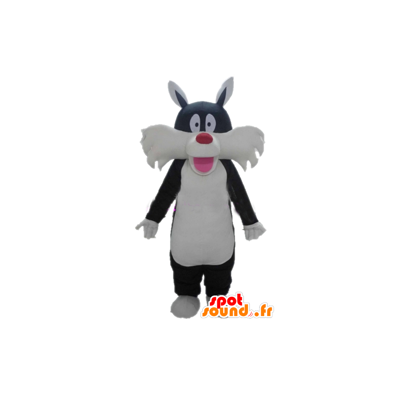 Sylvester Mascot famous black cat cartoon - MASFR23379 - Mascots Tweety and Sylvester
