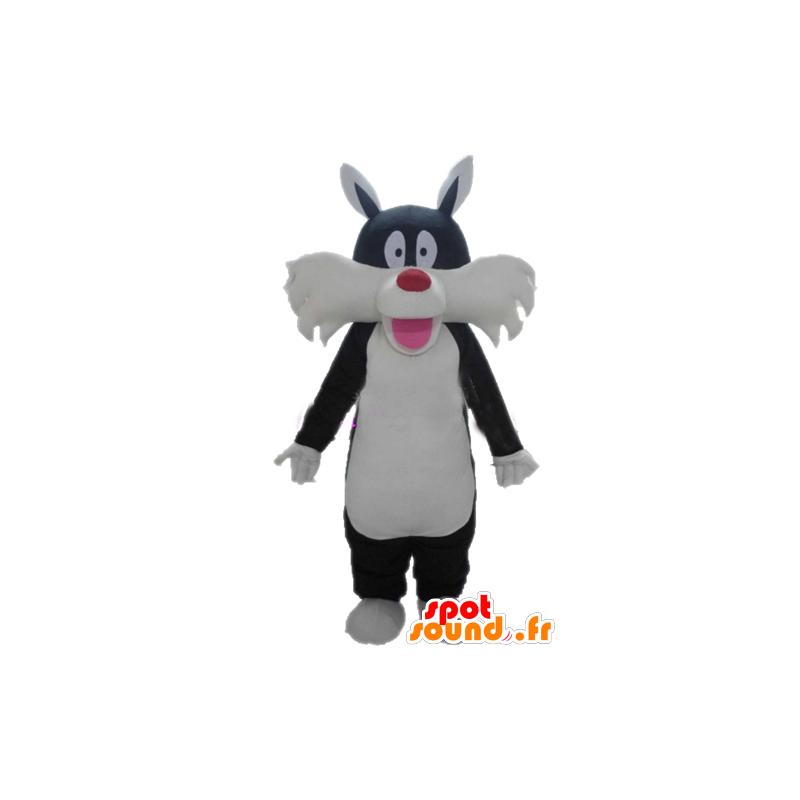 Sylvester mascotte famoso cartone animato gatto nero - MASFR23379 - Silvestro e Titti mascotte