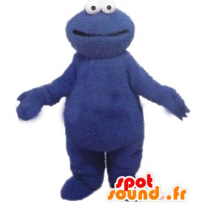 Mascot blue monster Grover, Sesame Street - MASFR23380 - Monsters mascots