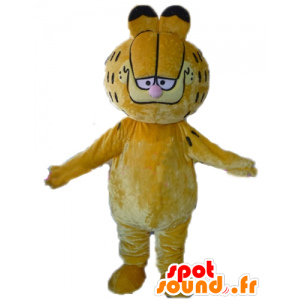 Garfield mascot, famous orange cat cartoon - MASFR23384 - Mascots Garfield