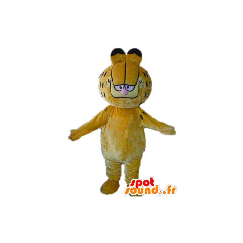 Mascotte de Garfield, célèbre chat orange de dessin animé - MASFR23384 - Mascottes Garfield