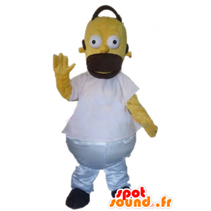 Mascot Homer Simpson, the famous cartoon character - MASFR23385 - Mascots the Simpsons