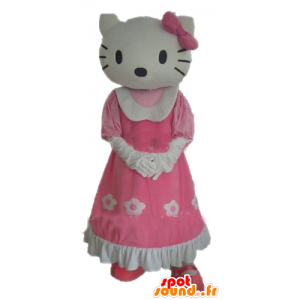Hello Kitty maskot, berömd tecknad katt - Spotsound maskot