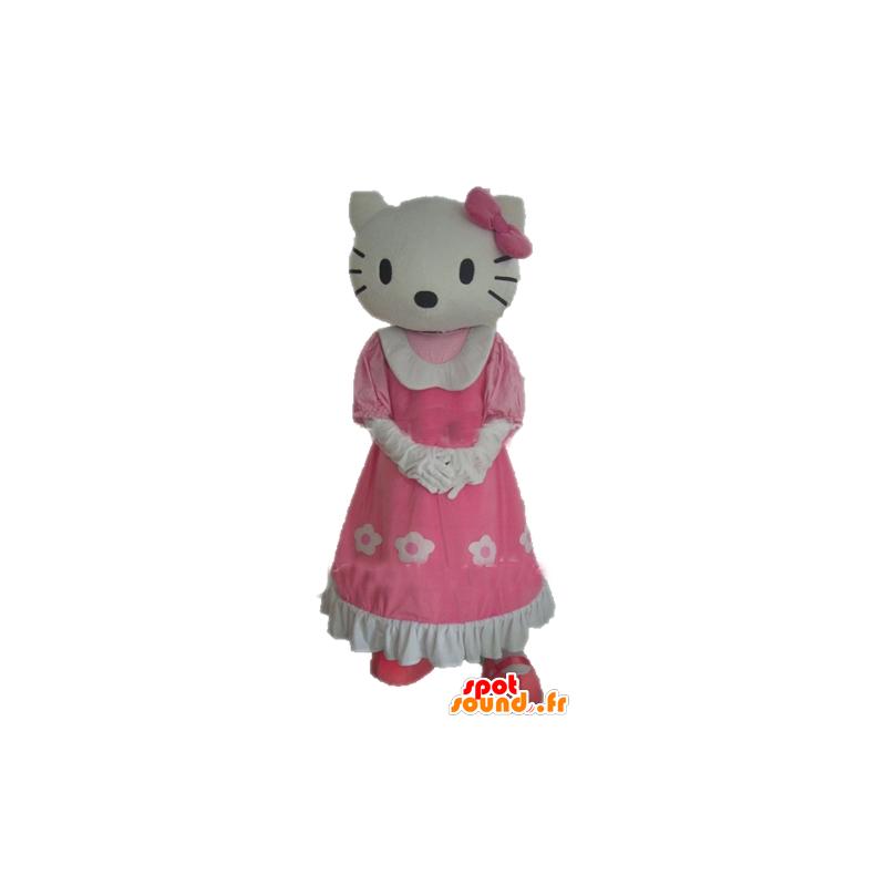 Mascot Hello Kitty, kuuluisa sarjakuva kissa - MASFR23386 - Hello Kitty Maskotteja