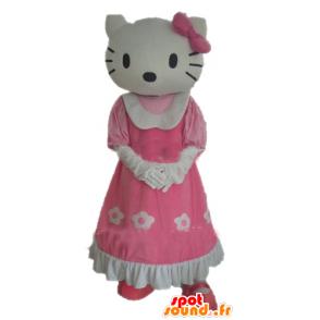 Mascot Hello Kitty, den berømte tegneserie katt - MASFR23386 - Hello Kitty Maskoter