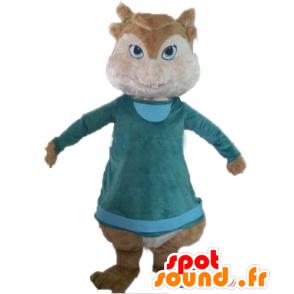 Brown squirrel mascot, Alvin and the Chipmunks - MASFR23387 - Mascots squirrel