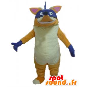 Chipeur mascot, the famous fox Dora the Explorer