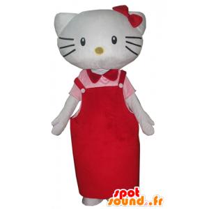 Mascot Hello Kitty, de beroemde Japanse cartoon kat - MASFR23399 - Hello Kitty Mascottes