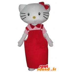 Mascotte d'Hello Kitty, célèbre chat de dessin animé japonais - MASFR23399 - Mascottes Hello Kitty
